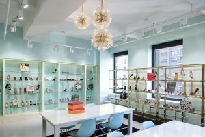 Photo of Schwartz & Benjamin showroom in Manhattan.  Shot Dec. 2015  Photos for use for BR Design Associates for portfolio, web use, press and PR  Please credit: Rebecca McAlpin Copyright 2015 Rebecca McAlpin.  All Rights Reserved.